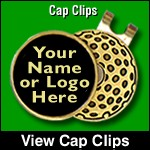 golf cap clips